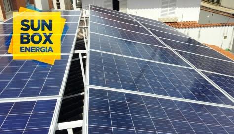 Sistema Fotovoltaico Comercial